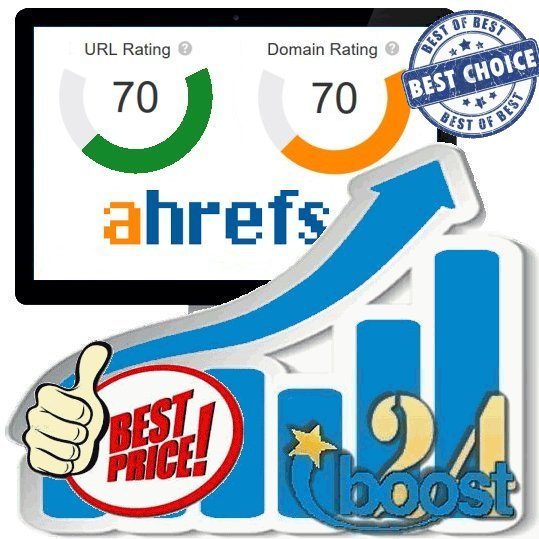 Increase your Domain Rating DR & URL Rating UR to 70+