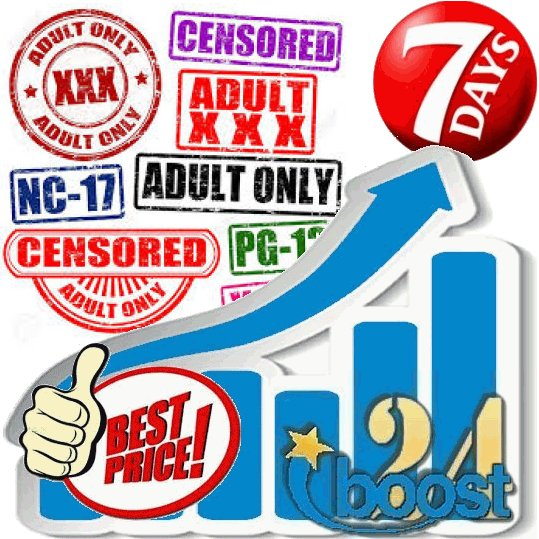 Adult Visitors from TOP20 Adult (XXX) Sites for 7 days