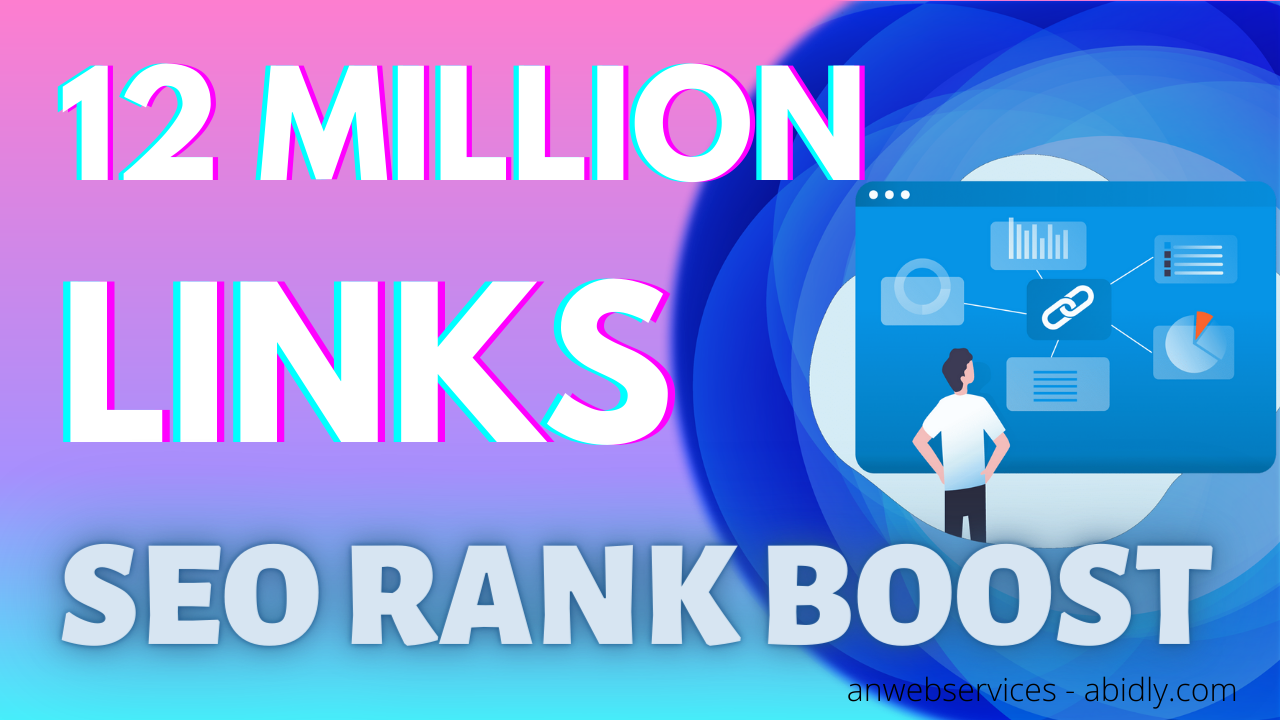 12 Million Backlinks And Pings For SEO And Search Engine Ranking