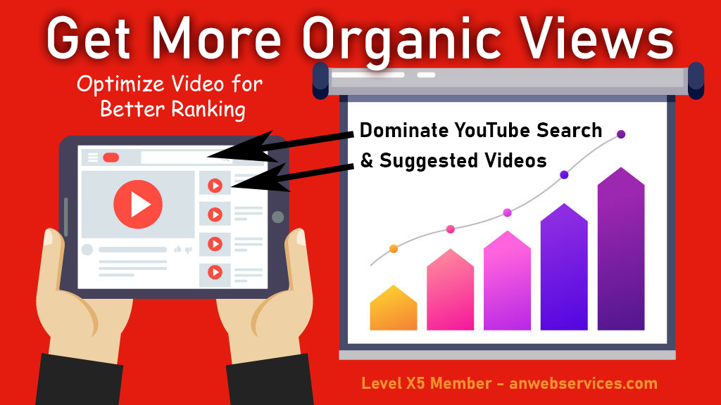 Professional Video SEO Optimization For Video Ranking And Watchtime Boost
