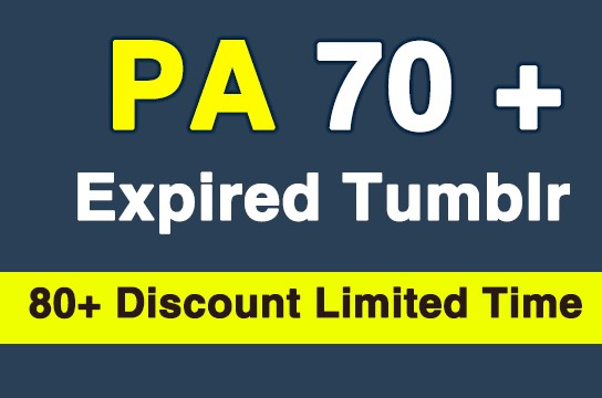 Register 10 Expired Tumblr PA70 Plus
