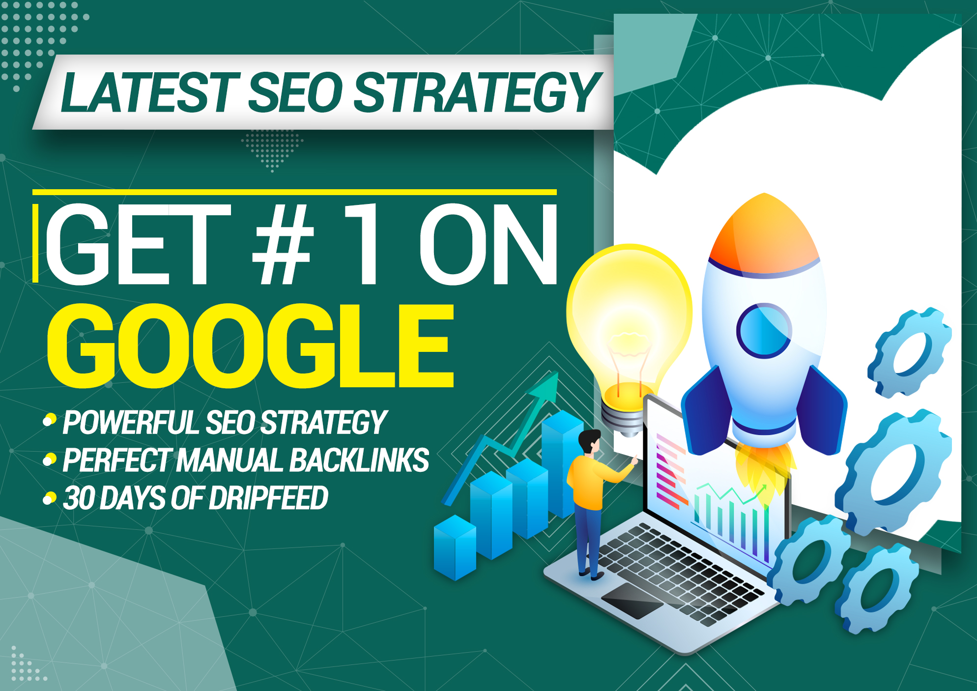 I will do Monthly Off Page SEO for any Website Ranking