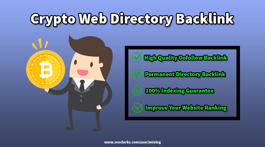 Permanent Website Listing With Backlink In PA 10+ Cryptocurrency Web Directory