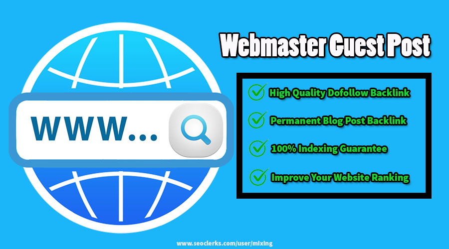 Publish High Quality Webmaster Guest Post With Backlink on PA 20+ Domaining Blog