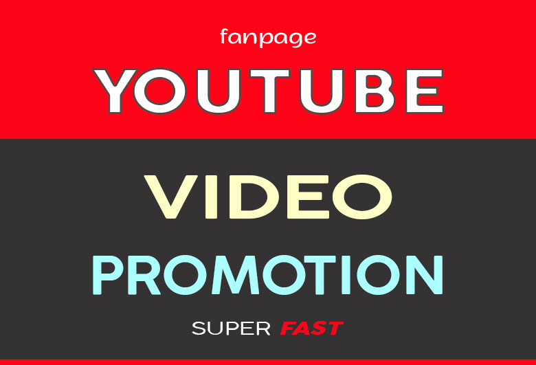 YOUTUBE VIDEO PROMOTION LONG LASTING AND REAL AUDIENCE