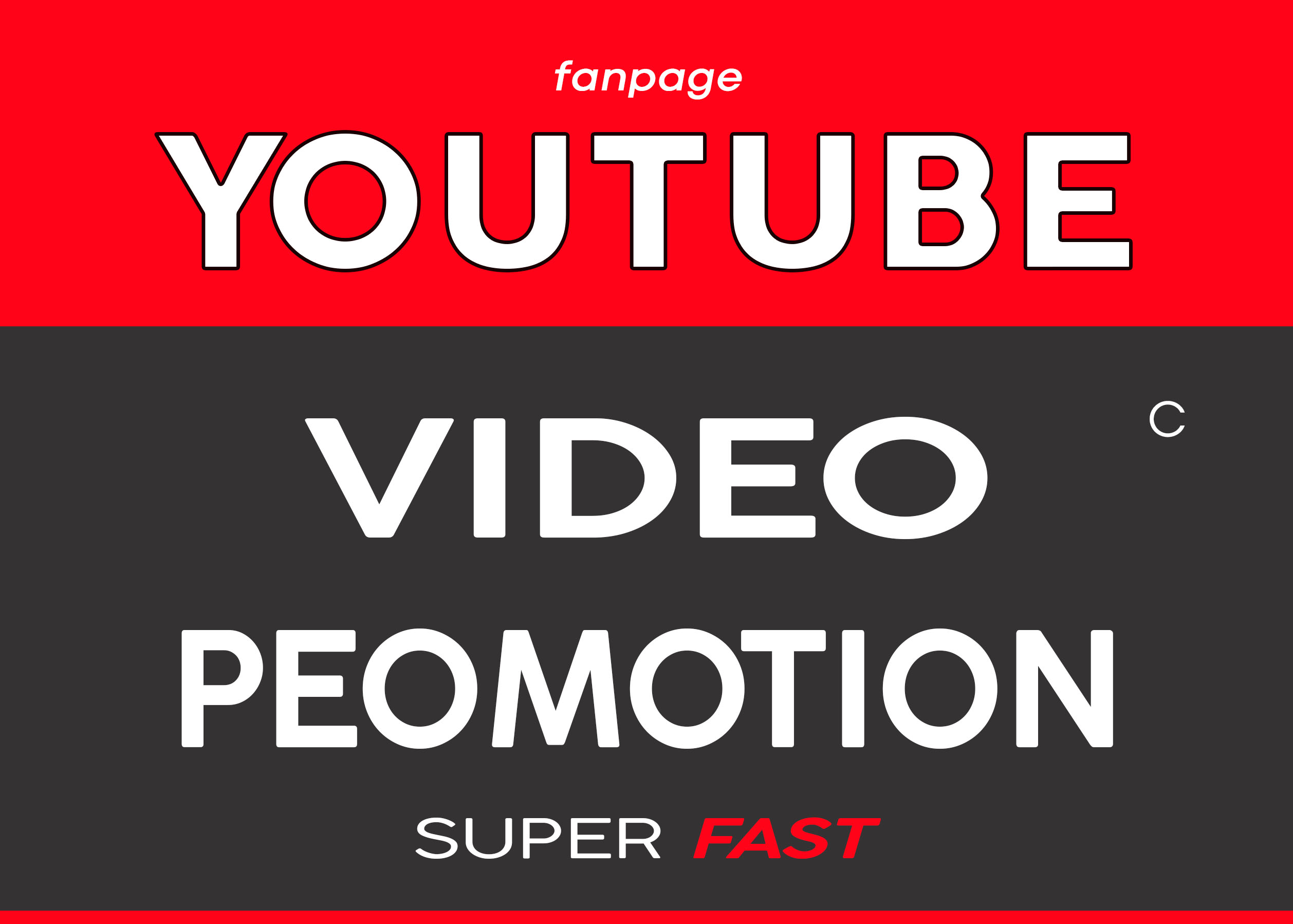 YOUTUBE VIDEO PROMOTION AND REAL MARKETING SERVICE