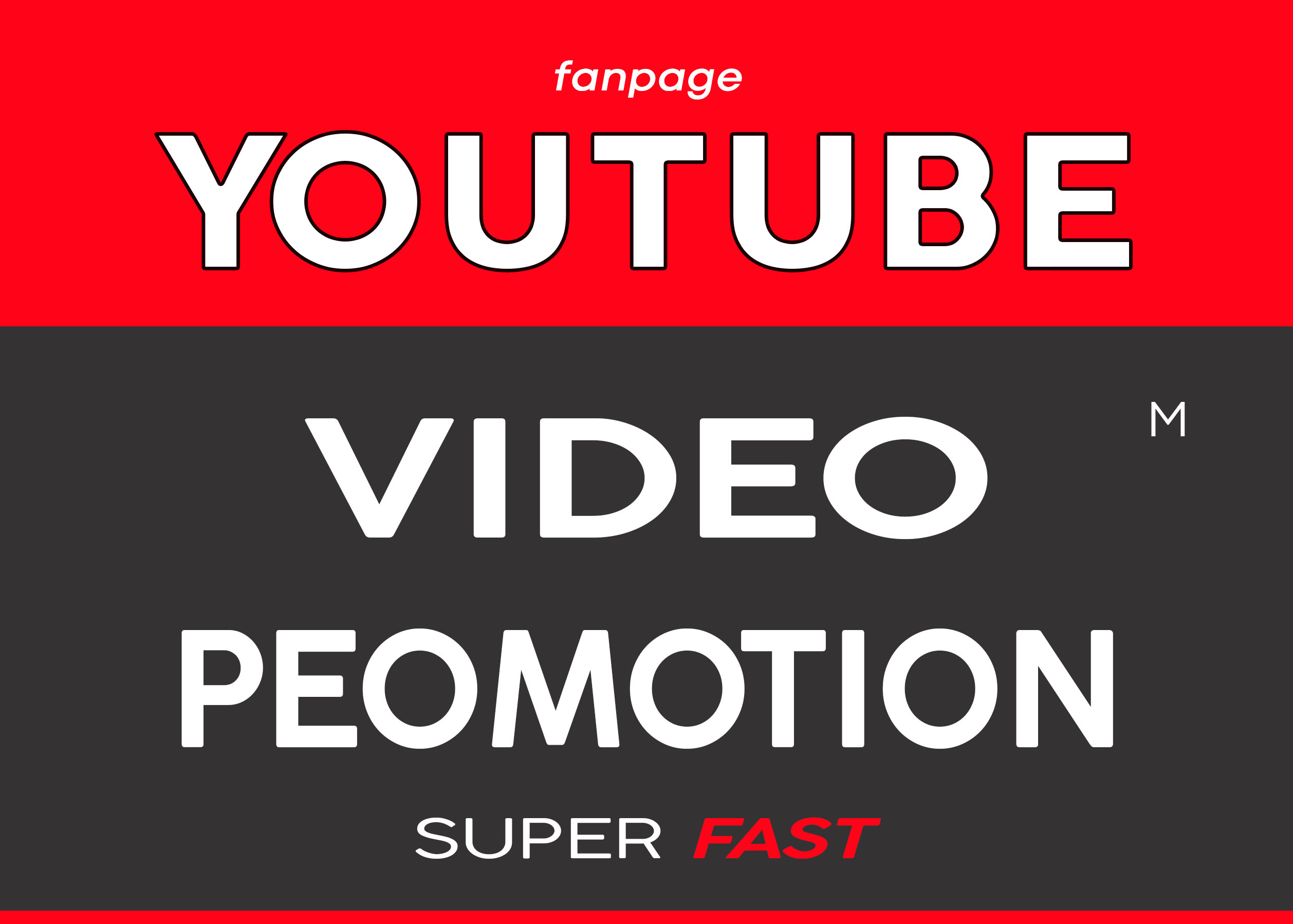 YOUTUBE VIDEO ORGANIC PROMOTION VIA REAL AUDIENCE