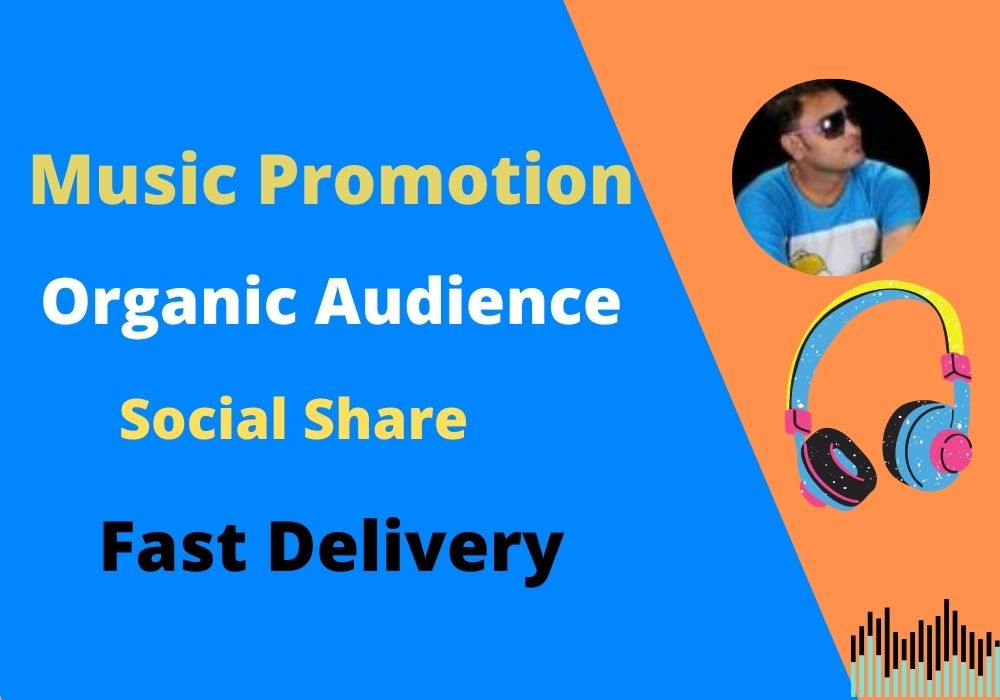 Audio Music Promotion and Organic Traffic to your Song