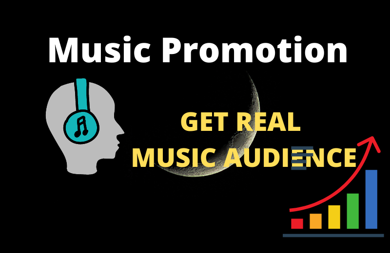 Get organic music promotion with real audience