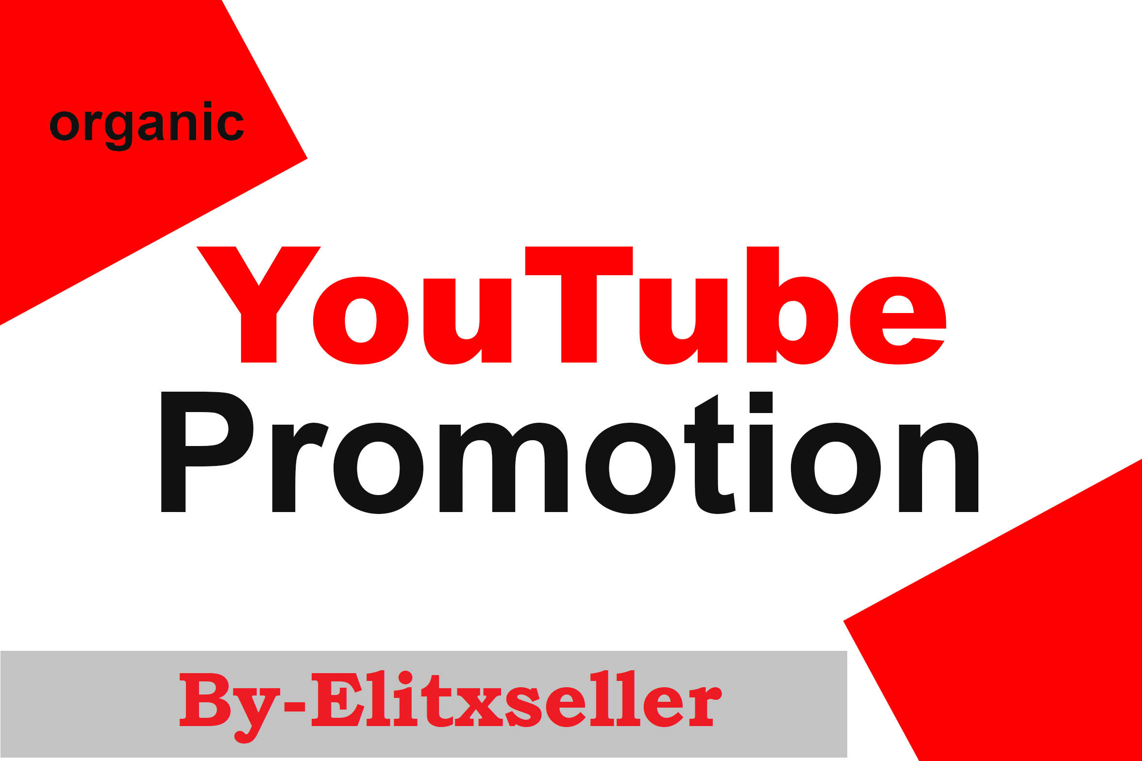 High Quality Youtube Video Package Promotion Super fast service