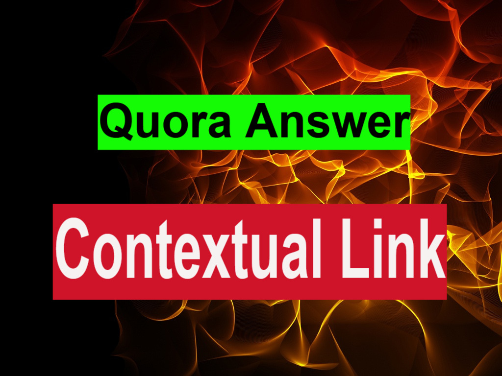 Guarantee 3 Quora Backlinks 500 Words Content for Each Answer