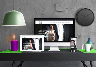 Design And Develop Professional Responsive Wordpress Website