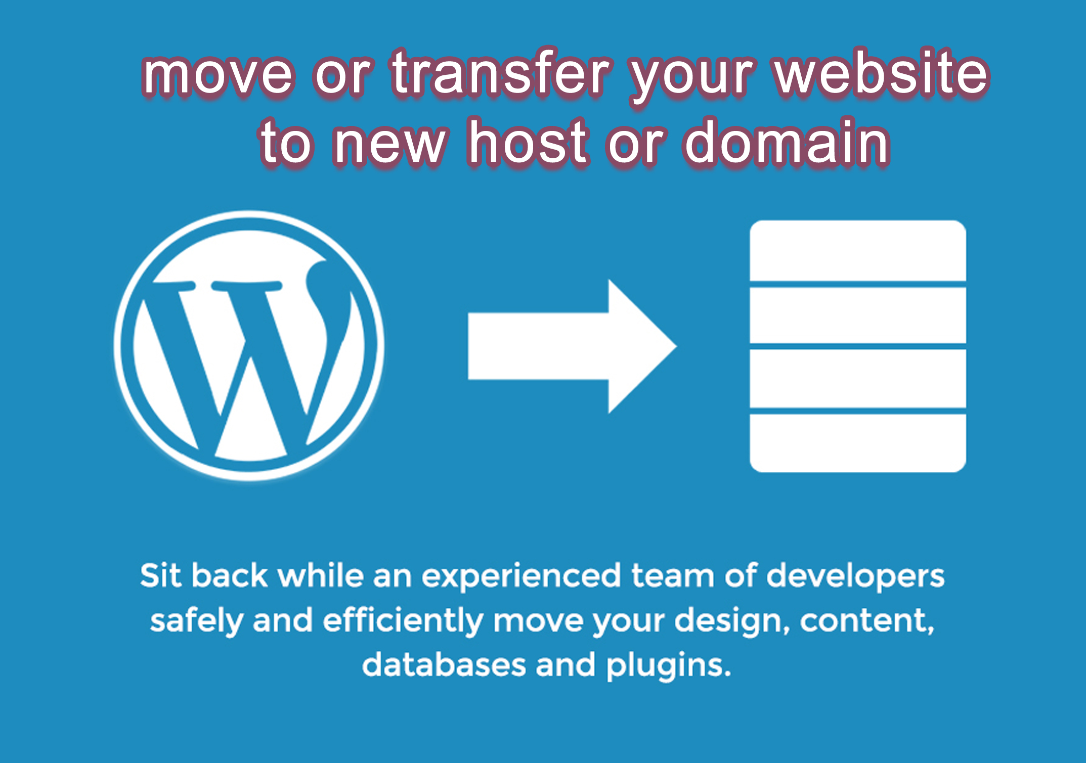 move or transfer your website to new host or domain
