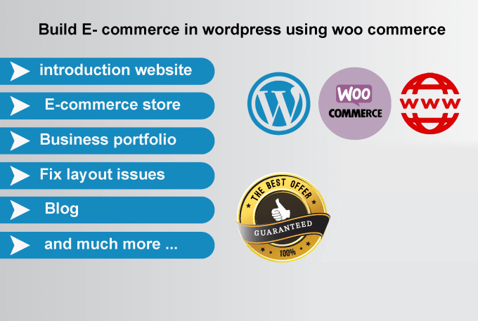I will build responsive WordPress, woocommerce website and blog within 48hrs