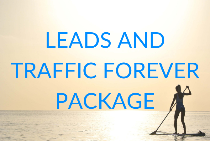 Leads and Traffic Forever Package
