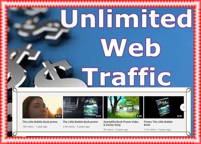 6 Months Web Traffic Unlimited from Multiple Sources