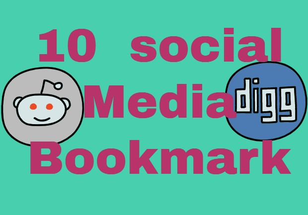 10 social media book mark white hat SEO technique to increase website rank and SERP position