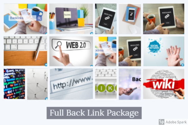 White Hat SEO Full Back link Package for Your website to increase Visitors for Life Time