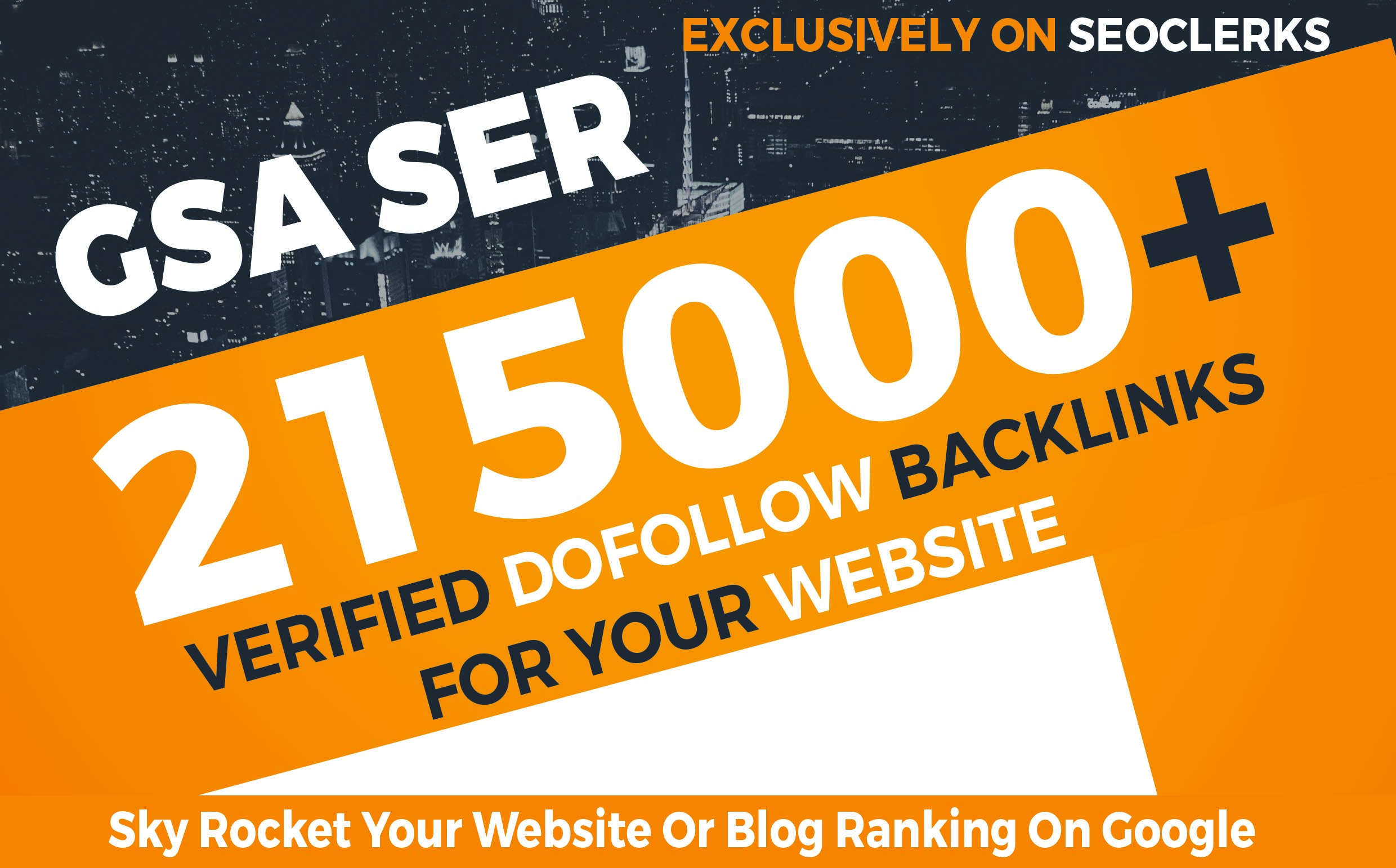 215,000+ GSA Dofollow Backlinks to Boost your Site Ra...