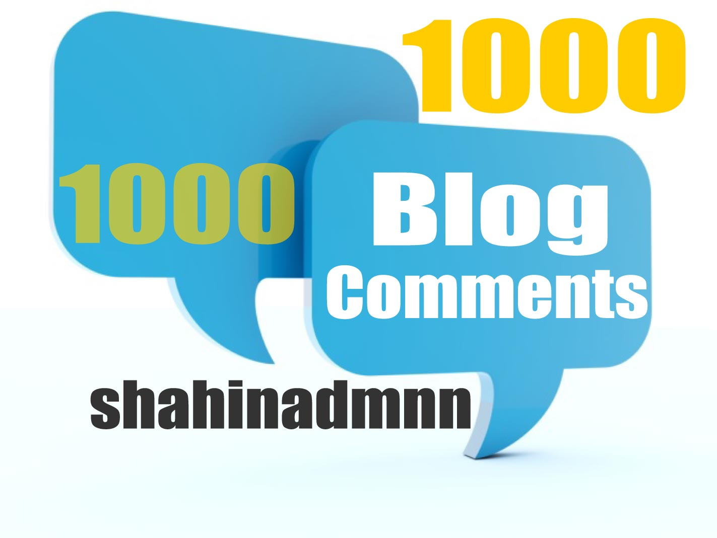 1000 Blog Comments Backlinks easy Link Juice And GSA Blast