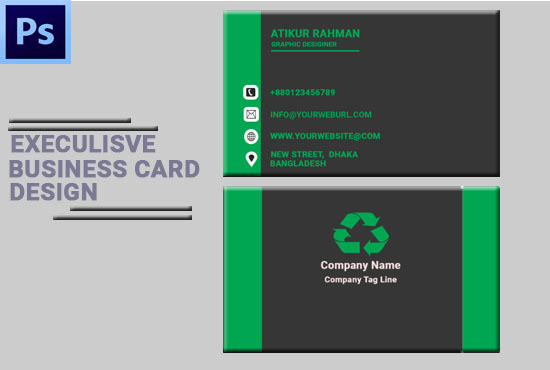 Amazing and unique Business card Design