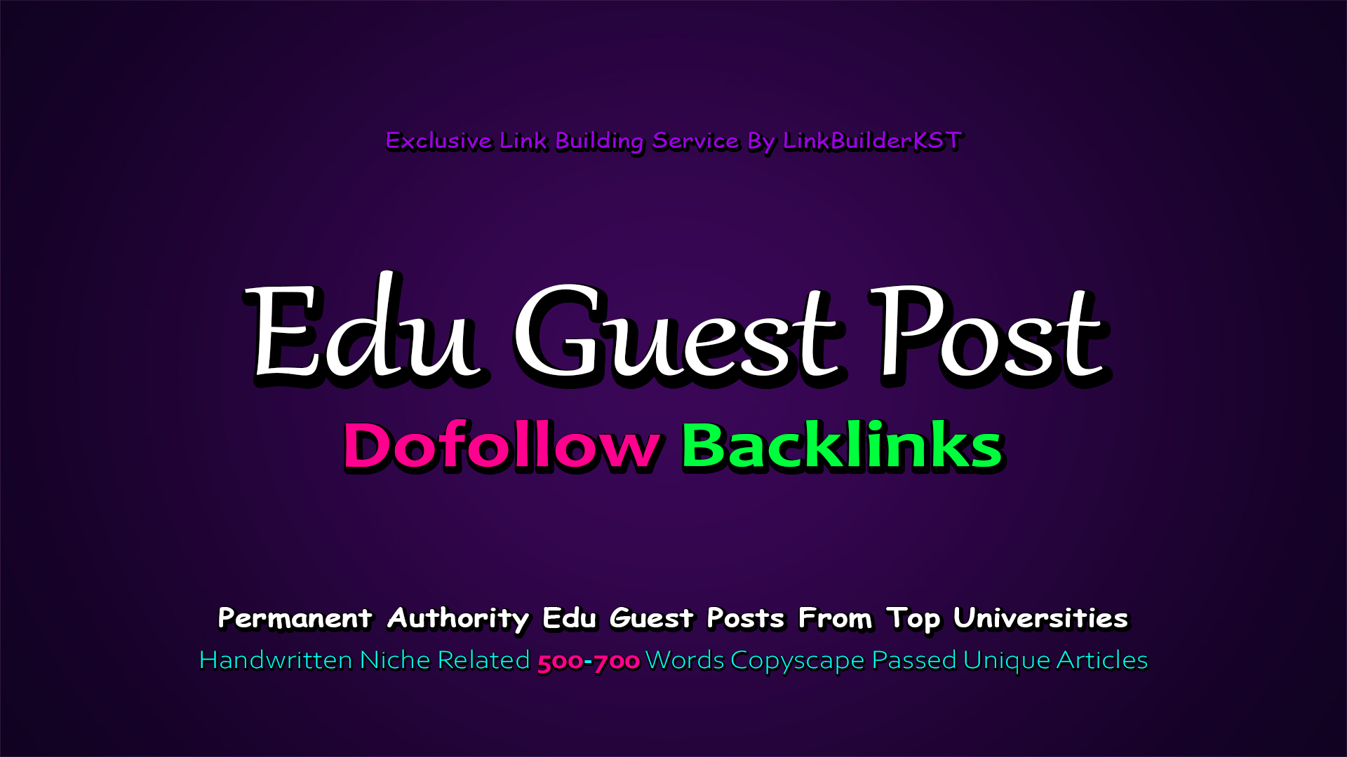 Limited Time Offer - Write And Publish 3X EDU Guest Posts On Top Universities