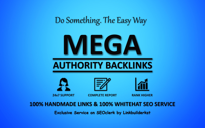 Mega Authority Backlinks - WhiteHat SEO Service To Skyrocket Your Google Ranking