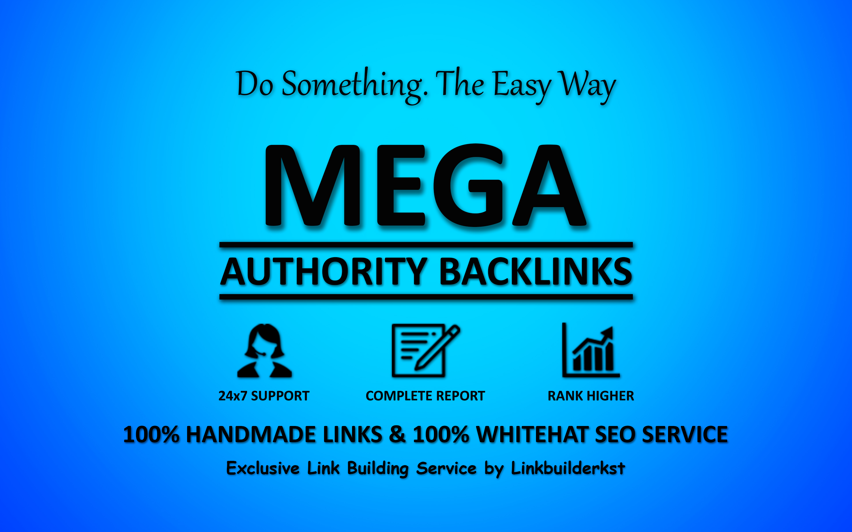 Mega Authority Backlinks - The Ultimate Ranking Solution SEO Service