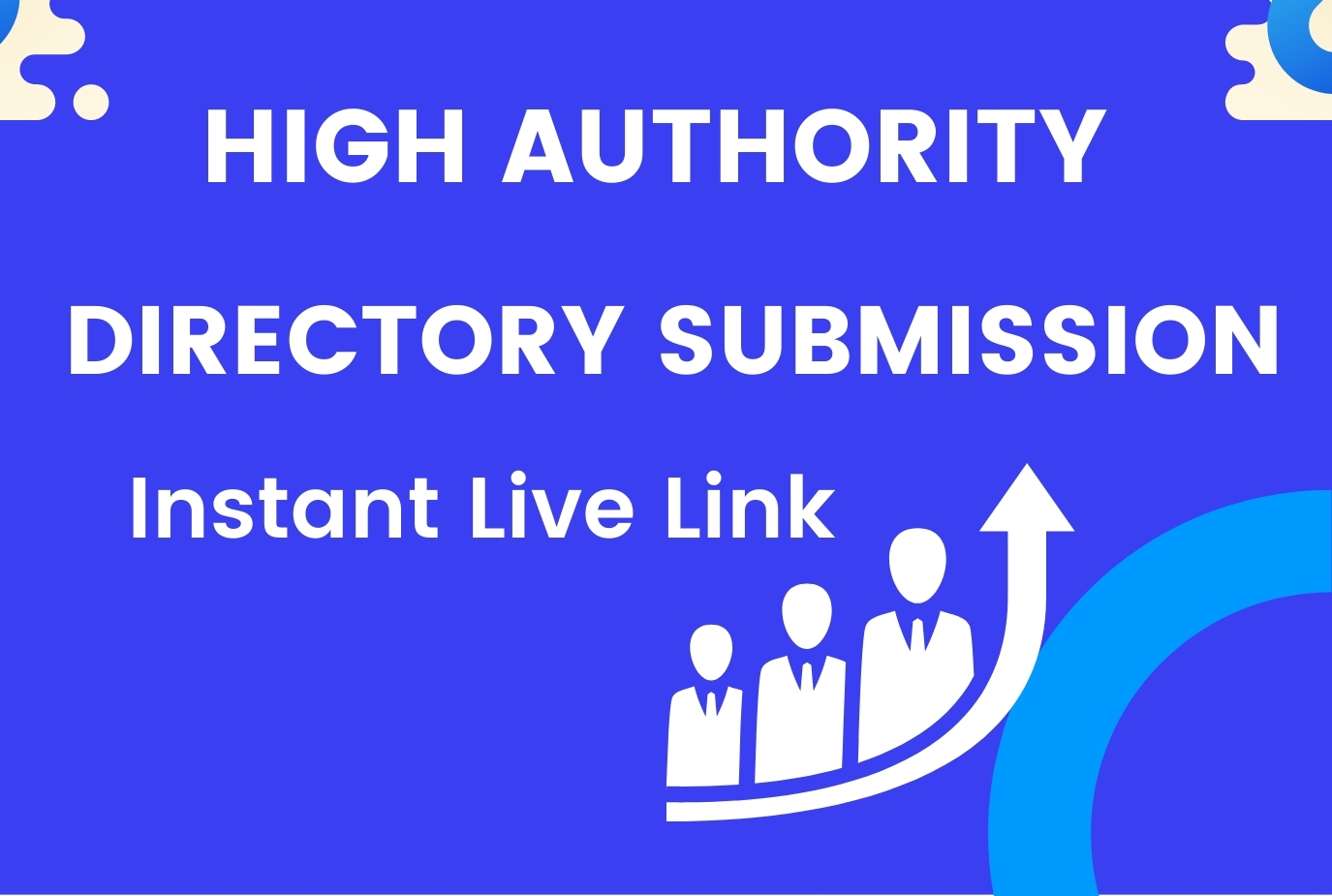 I will provide 10 manually HQ directory submission With Live link