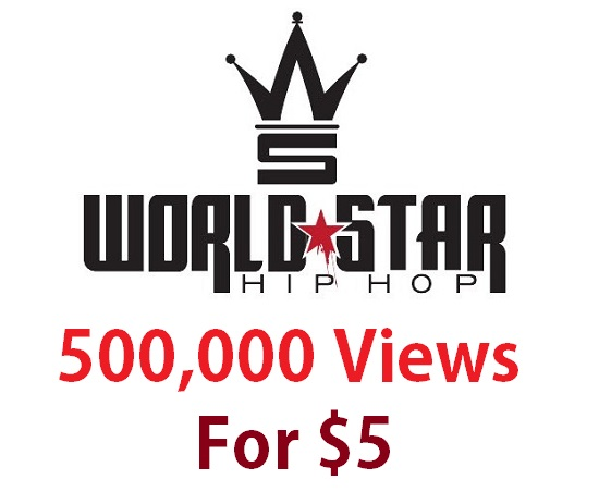 500,000 views worldstarhiphop hip hop wshh world star