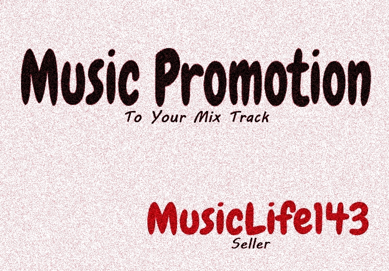 Music Promotion Non Drop Beloved To Your Mix Track