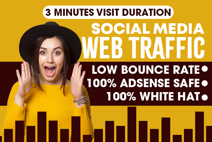 Set Up And Run low bounce rate Geo Targeted Web Traffic Campaign for 30 days