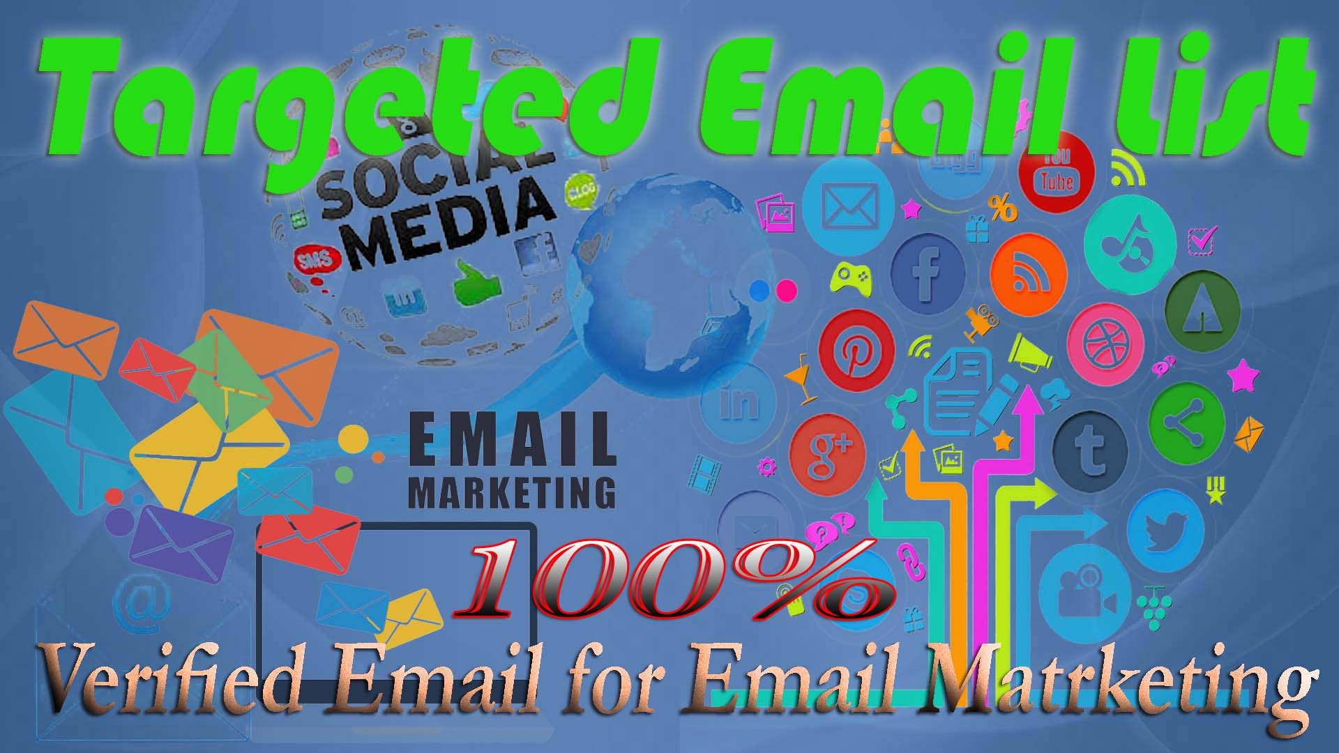 I will do high quality 4k plus any type performed Targeted Email list