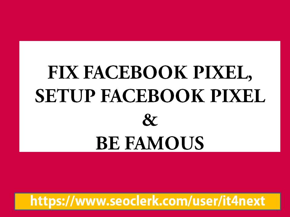 We shall Fix IOS 14 Updates and Setup Facebook Pixel,  Conversion API