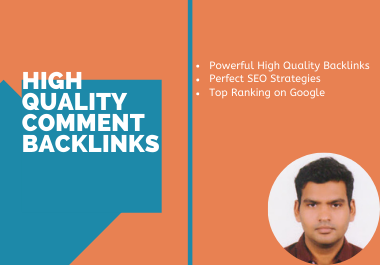 I will provide 20 manual high quality blog comment backlinks