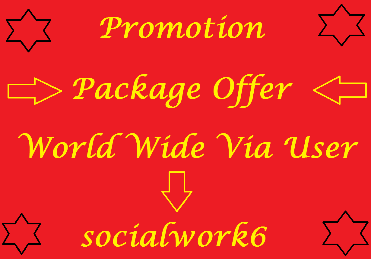 Organic YouTube Package Promotion Real Via World Wide User