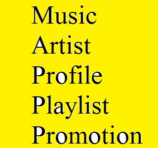 Get Music Artist Profile or Playlist Promotion
