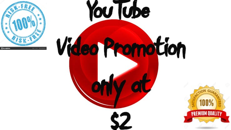 We will promote your video with 100 Organic and natural way Guaranteed