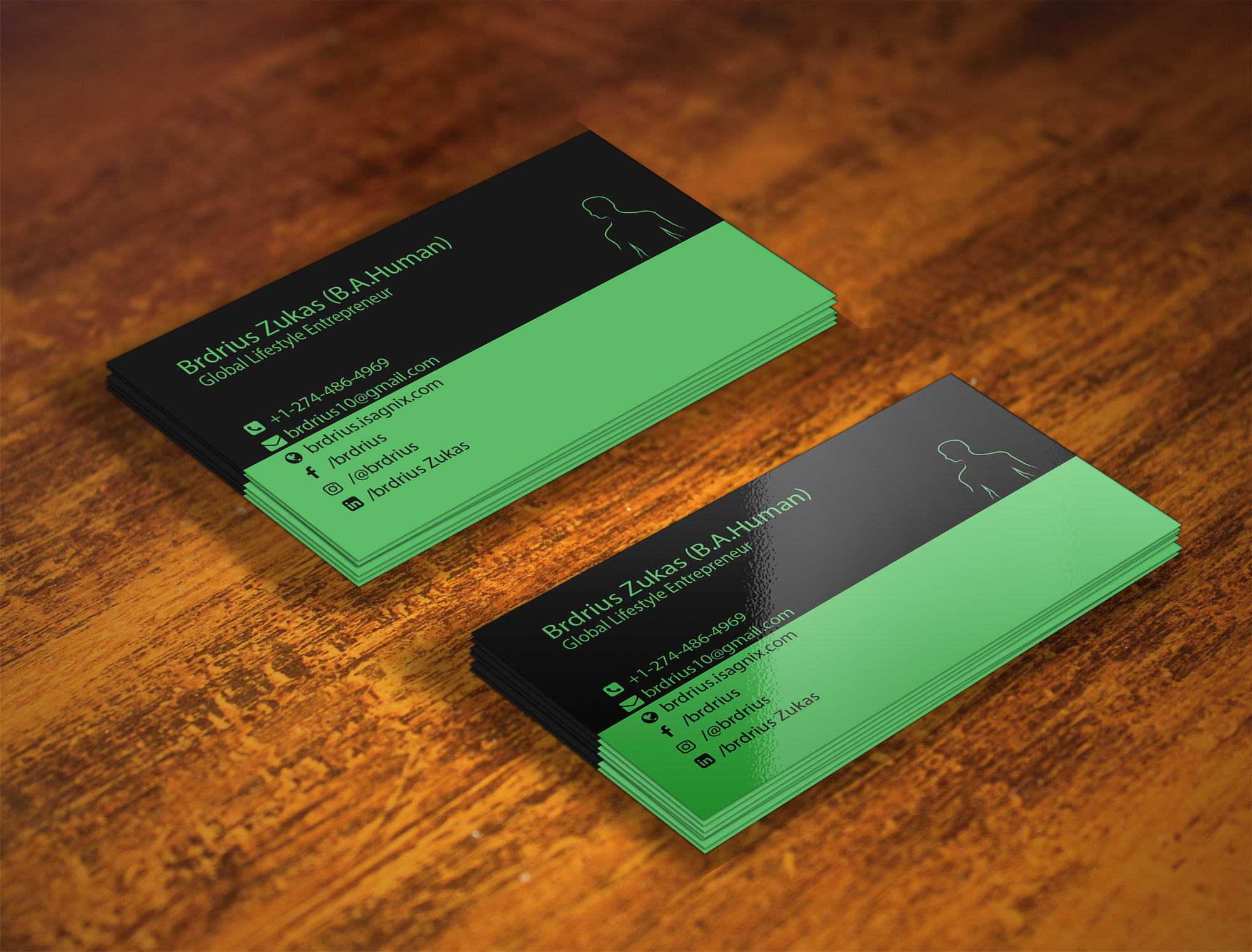 I will create luxury business card design within 2 Days