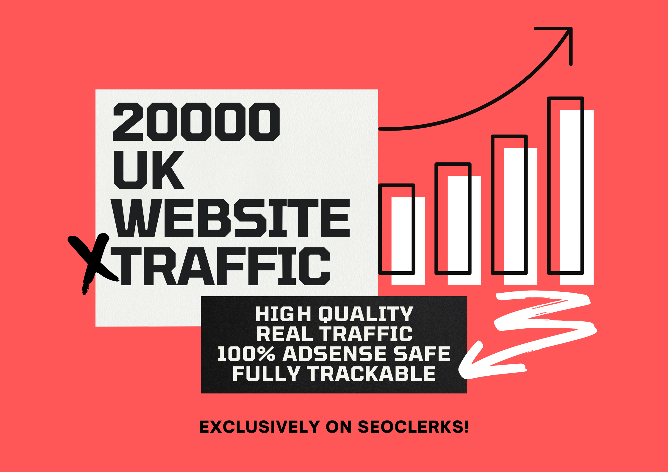 Send 20,000 High Quality Real Human Traffic from United Kingdom