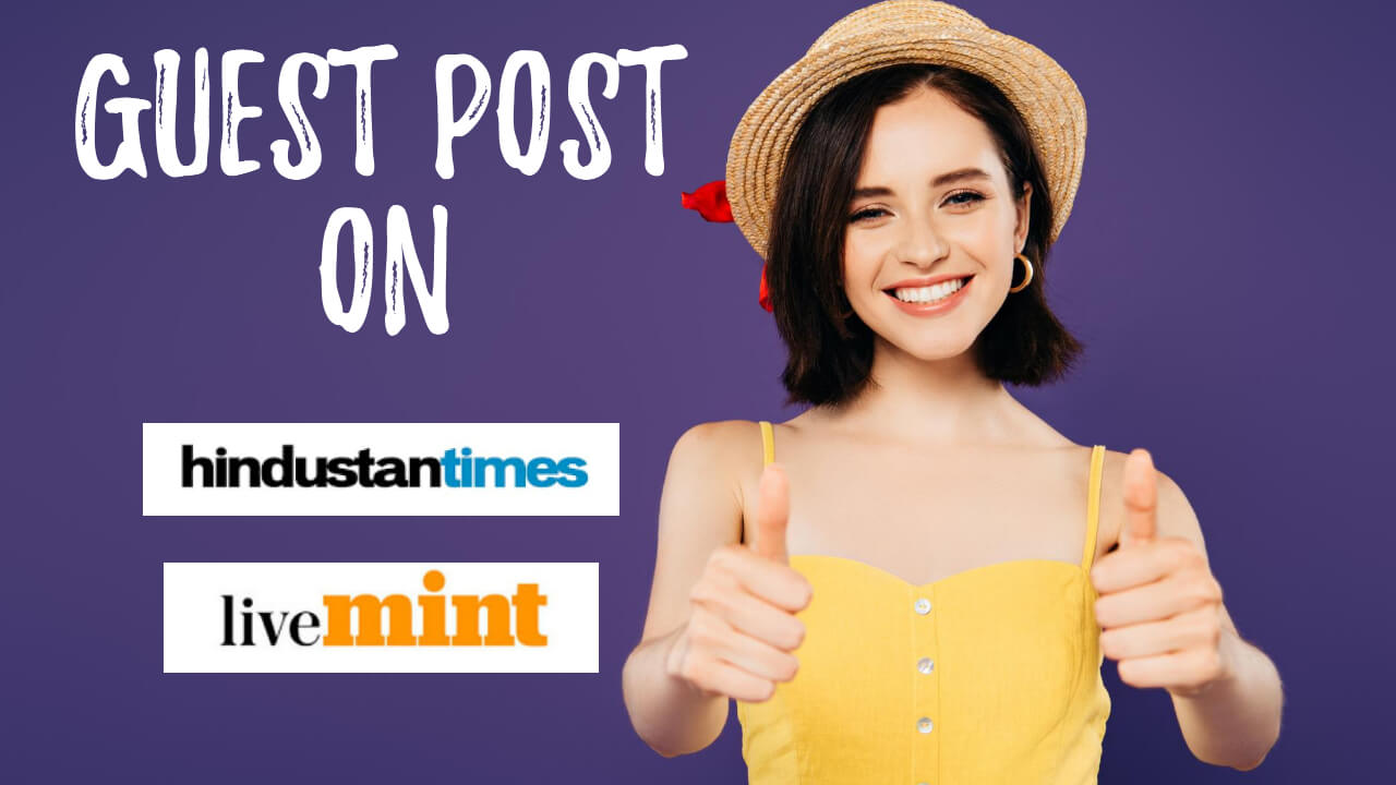 Get published on Hindustan Times Dofollow Link