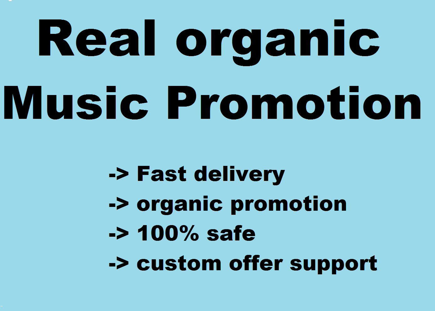 promote your track and increase your popularity