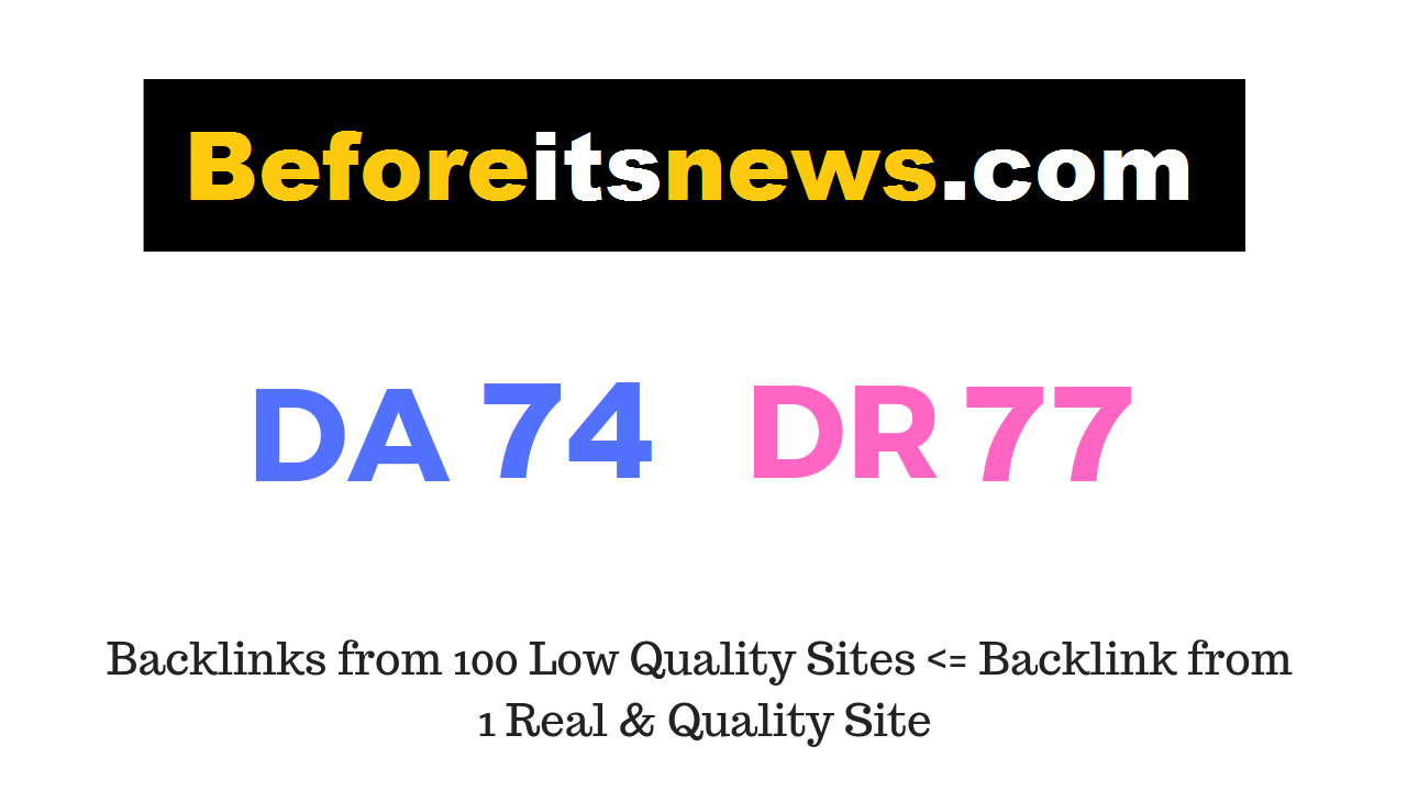 Guest Post on Beforeitsnews. com DA74 DR77