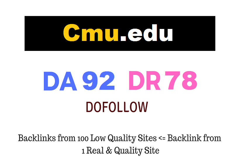 Guest Post on Carnegie Mellon University - Cmu.edu - DA92