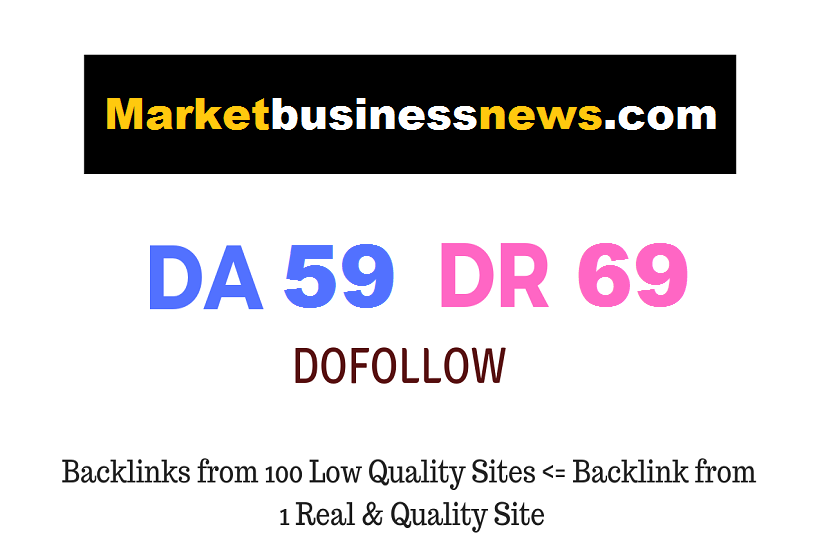 Guest Post on Marketbusinessnews. com DA59 DR69
