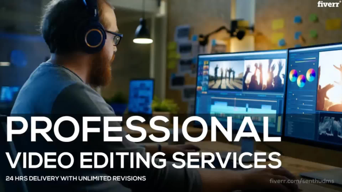 I Will Do Professional & Creative Video Editing Projects Starting
