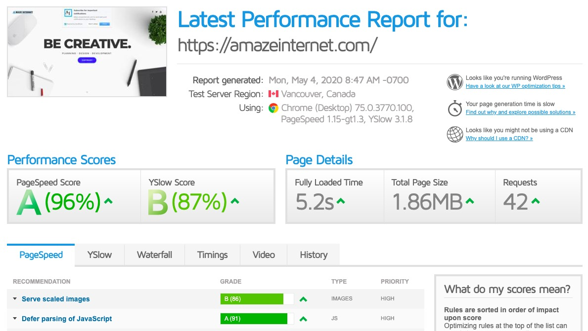 Optimize Wordpress Speed, HTTP Requests, SEO Ranking, Mobile Page Load and Increase Conversion