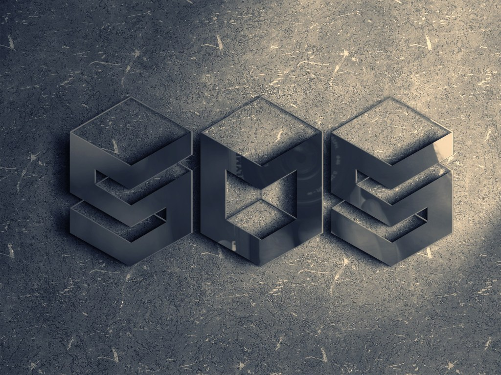 I will make shiny 3d mockup Logo and give 3d mockup for your logo