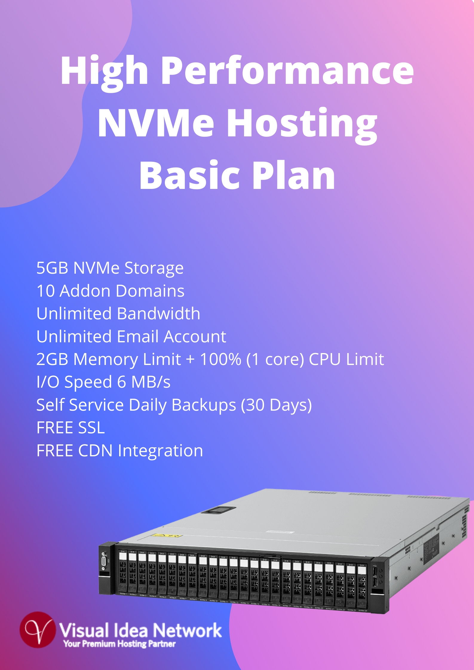 Austraria NVMe Hosting Basic Plan
