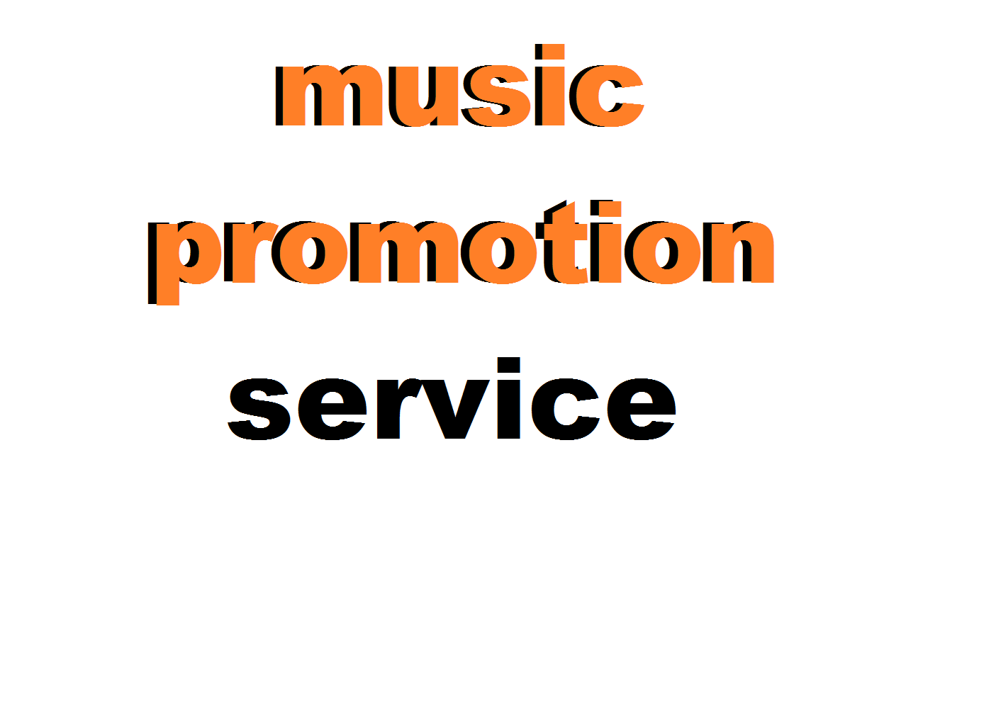 i will promote your track and you will get more audience for your track or playlist